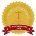 Attorney For Justice | Tennesse Supreme Court | Pro Bono service Award 2018